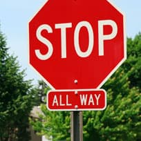 Stop Sign Violations